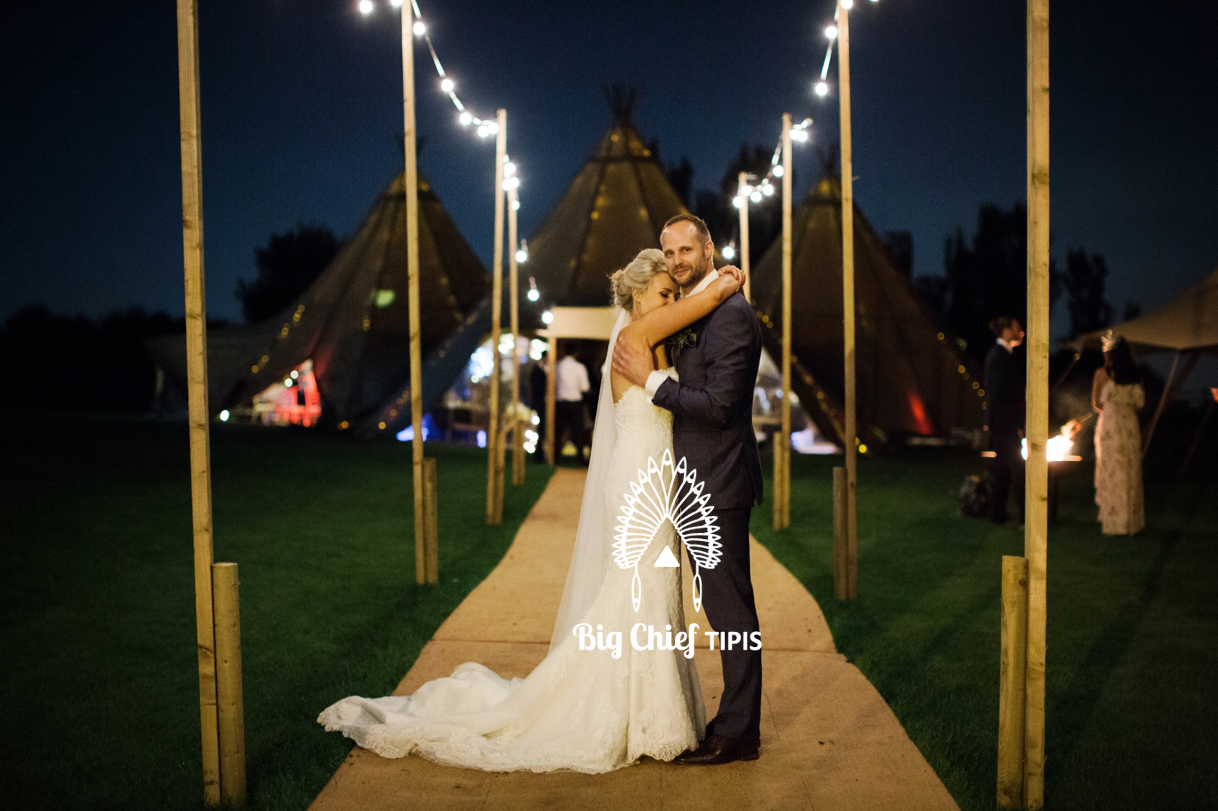 Sue Le Bonne with Big Chief Tipis, Wedding Catering