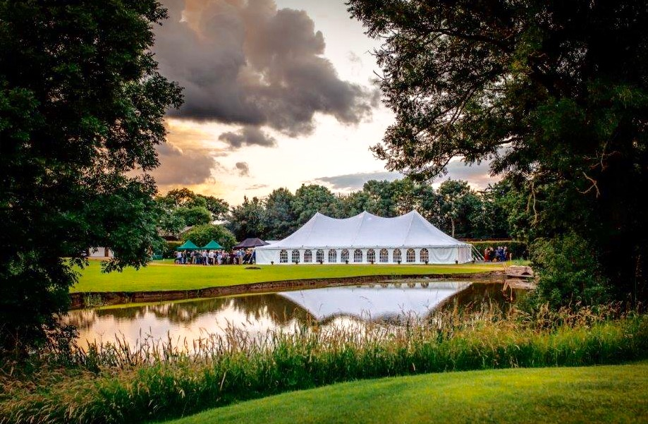 Sue Le Bonne with Marquees, Cheshire Wedding Catering